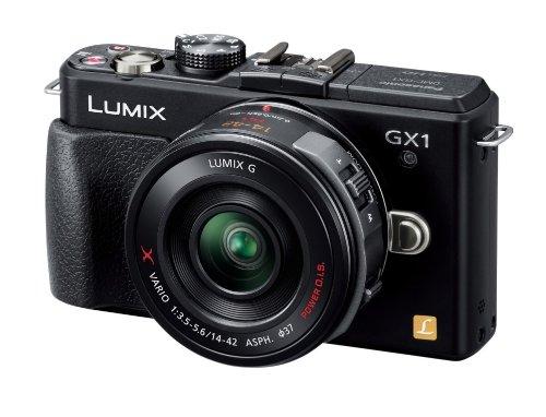 Panasonic digital SLR camera LUMIX GX1 motorized zoom lens Kit Black DMC-GX1X-K