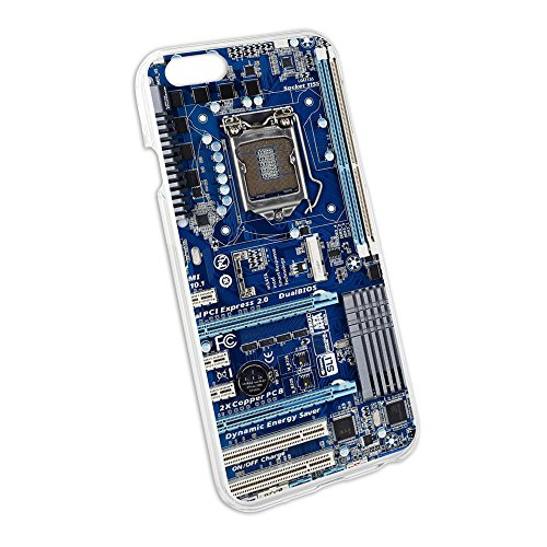 Blue Computer Motherboard Processor Protective