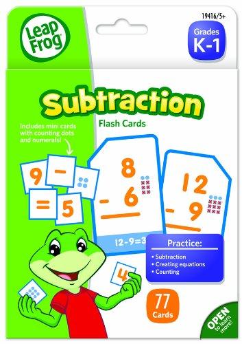 LeapFrog Subtraction Flash Cards Grades