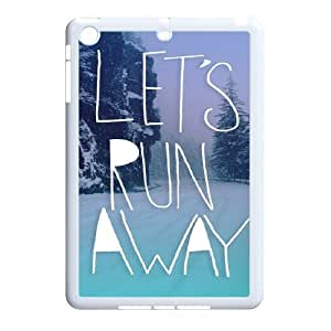 Lets Run Away Customized Case for Ipad Mini, New Printed Lets Run Away Case