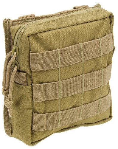 Modular MOLLE Utility Pouch-Coyote Tan (Coyote Tan Pouch)