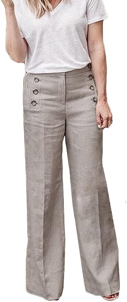 supersu Mujer viscosa con cintas Pantalones Mujer Harén ...