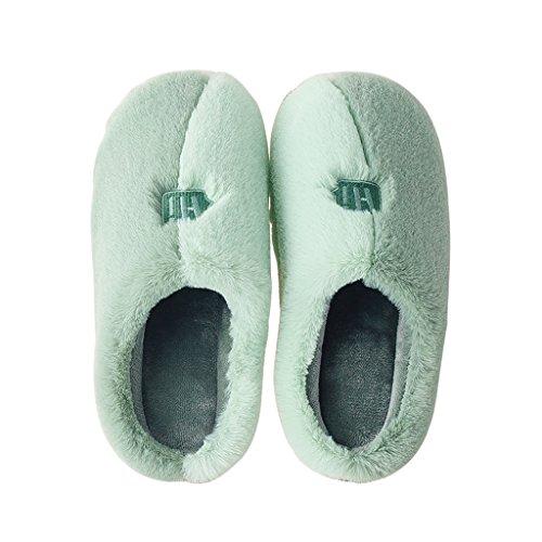 de Cálido A de Antideslizante de Invierno DWW Mujer Algodón caseros Zapatillas Cálido Zapatos 5q8wSFOwW