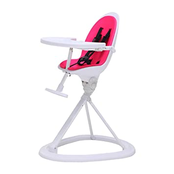 Ickle Bubba Orb Baby Highchair   Feature Packed Feeding High Chair In Pink  On White Colour
