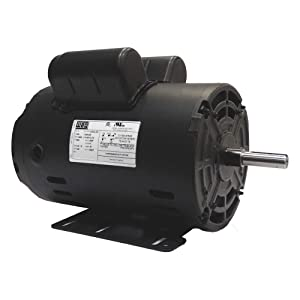 Air Compressor Motor, 2 HP, Frame 56