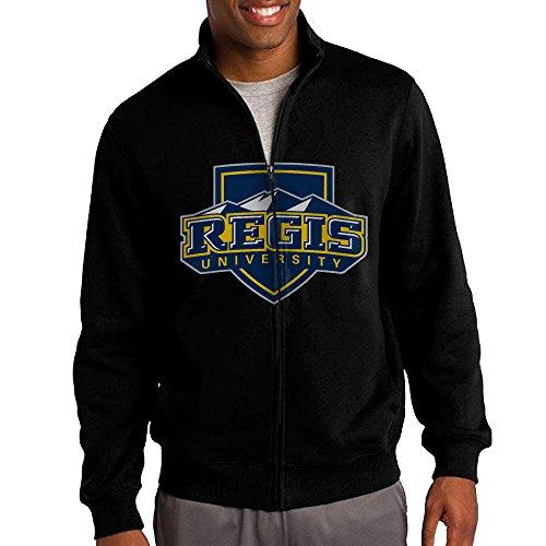 Society Of Jesus Regis University Logo Stand-up Collar Zipper Jacket Sweatshirt
