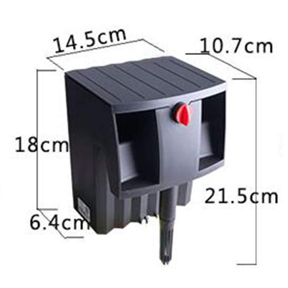 4w L &WB Fish Tank Oxygen Pump Filtro esterno Piccola Purificazione Acqua Purificante Circolazione Acquario Molto Silenzioso,4w