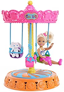 Barbie Chelsea Carousel Swing with Doll