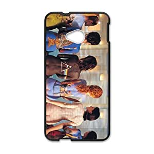 Artistic Body Pattern Fashion Comstom Plastic case cover For HTC One M7 by ruishername