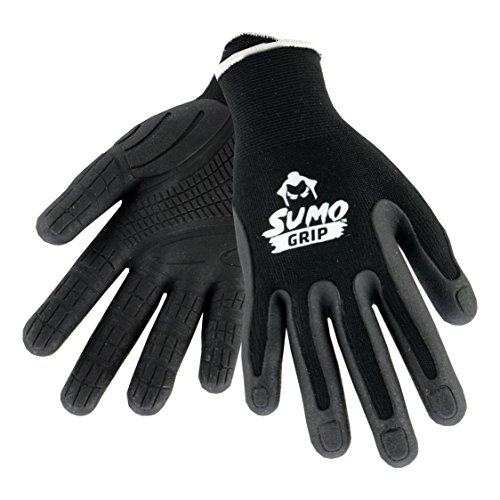 west-chester-gloves-sumo-ultimate-grip-work-gloves-knit-shell-elastic-wrist-mens-large-black-1-pair-