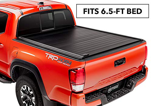 RetraxPRO MX Retractable Truck Bed Tonneau Cover | 80842 | fits Tundra Regular & Double Cab 6.5' Bed with Deck Rail System  (07-18) (2000 Chevy Silverado Regular Cab For Sale)