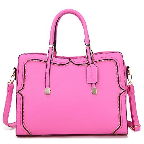 Large Satchel Handbags - 5