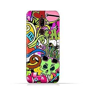 AMC Design Nokia 7 Plus TPU Silicone Protective Case with Graffitii Hip Hop 2 Design