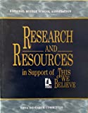 This We Believe : Research and Resources, Anfara, Vincent A. and Andrews, P. Gayle, 1560901438