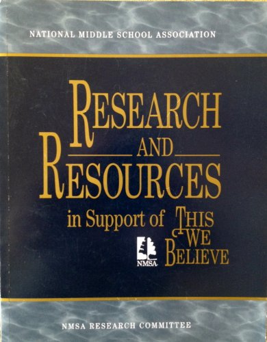 This We Believe: Research and Resources