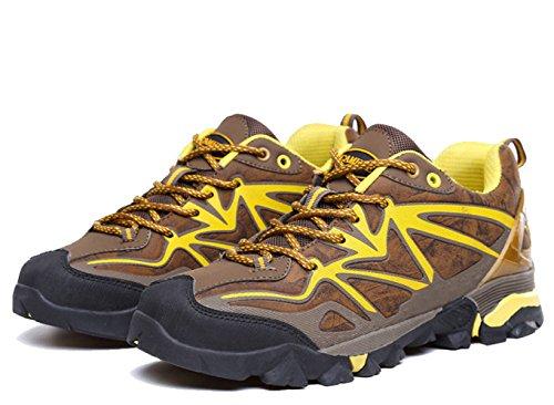 Confortables Transpirables Zapatos Al Aire Libre De La Aptitud De Senderismo Multicolor De Varios Tamaños Brown