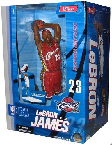 Mcfarlane NBA Basketball Lebron James (12-Inch) Action Figure by McFarlane
