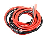 10 Gauge Silicone Wire 10 Feet - 10 AWG Silicone Wire - Flexible Silicone Wire