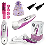 Womanizer Pro 40 [ Magenta ] Sold By Authorized USA Dealer ( Also Includes B. Brand Bundle Kit )