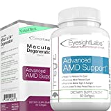 EyesightLabs® Macular Degeneration Eye Vitamins - AREDS 2 Vision Supplements to Avoid Vision Loss - Protect Your Macula from Damage - w Lutein, Zeaxanthin - Quality Bilberry Eye Vitamins