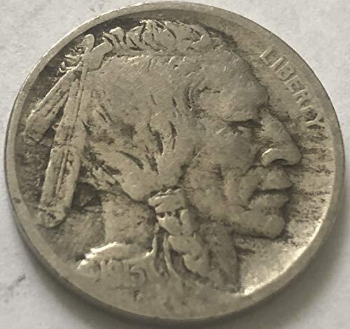 1913 D Buffalo Type II Beautiful Semi Key Nickel Fine