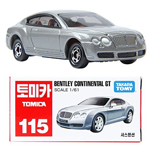 TOMICA 115 BENTLEY CONTINENTAL GT 1:61 Diecast Metal MINICAR TOY