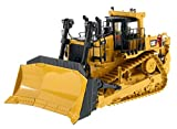 CAT Caterpillar D10T2 Track Type Tractor Dozer with Operator High Line Series 1/50 by Diecast Masters 85532
