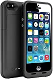 Shinefuture Slim External Rechargeable Backup Battery Charger Charging Case Cover for Iphone 5g 5s 2500mah (Black)