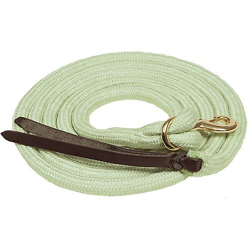 Mustang Bamtex Bamboo 5/8in Cowboy Lead 15ft ()