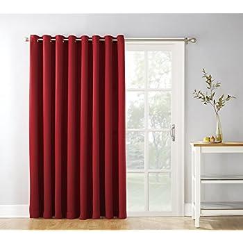 Amazon sun zero easton blackout patio door curtain panel 100 sun zero easton blackout patio door curtain panel 100 x 84 planetlyrics Image collections