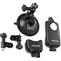 Universal Suction Mount in Black & Electronic Computer