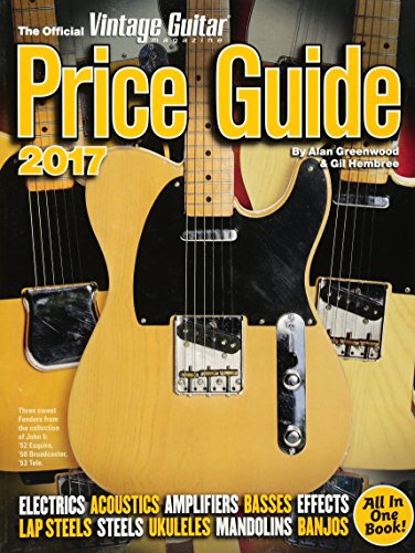 - The Official Vintage Guitar Magazine Price Guide 2017