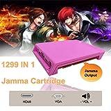 ExGizmo 1299 in 1 JAMMA PCB Pandora's Key Box 5s Arcade Multigame Board Pink