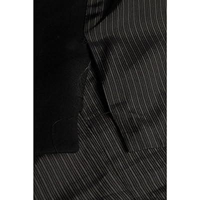 Calvin Klein Suit Separates Vest Black Solid 100% Wool New Men's Vest