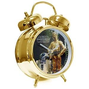 Star Wars STAR117 - Reloj - Reloj R2D2 & C3PO Despertador 1