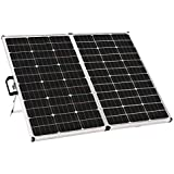 Zamp solar Legacy Series 140-Watt Portable Solar Panel Kit with Integrated Charge Controller and Carrying Case. Off-Grid Solar Power for RV Battery Charging - USP1002