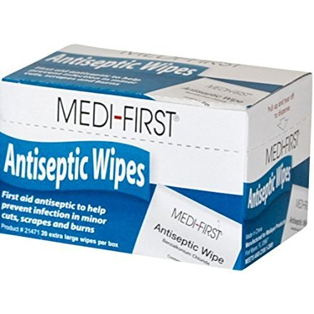 (Medi-First Unitized Kit Refill Antiseptic Wipe Towelettes - MS60710 (20 Pads))