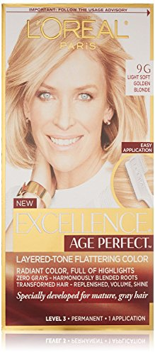 (2 Pack) L'Oreal Paris Hair Color Excellence Age Perfect Layered-Tone Flattering Color Dye (9G) -  638684