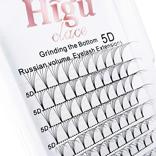 5D Russian Volume Eyelash Extenisons 0.07 D Curl 14mm Short Premade Fans Lash|8-15mm 3D 4D 5D 6D C/D Curl 0.07/0.10mm|
