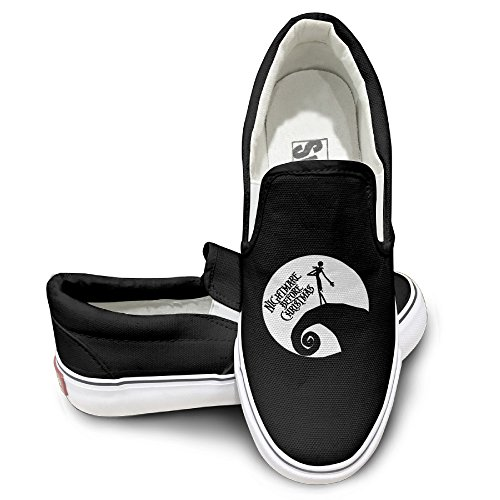 Rebecca The Movie Poster Girl In Moon Casual Unisex Flat Canvas Shoes Sneaker 40 Black The Round Toe And Manmade Sole Will Keep Your Feet Feeling Comfortable And The Quality (Ninja Turtle Pumpkin Carving)