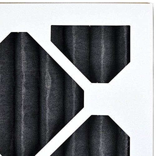 AirXフィルター臭気16x 32x 1エアフィルタMERV 8AC炉プリーツエアフィルタ交換用ボックスof 12, Made in the USA