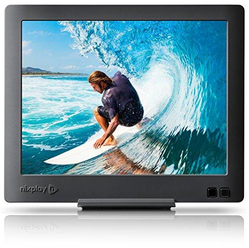 Hi Res Usb (Nixplay Edge 8-Inch Wi-Fi Cloud Digital Photo Frame with Hi-Res Display)