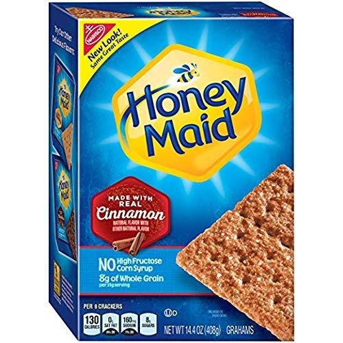 - Honey Maid Cinnamon Graham Crackers, 14.4 oz Box (Pack of 12) (2 Pack (Pack of 12))