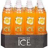 Sparkling Ice Orange Mango Sparkling Water Beverage, 12 Count