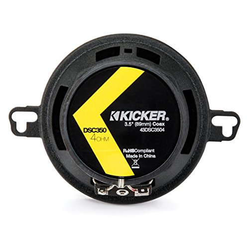 Designs Subaru Tribeca Dash (Kicker 43DSC3504 3-1/2-Inch 3.5-Inch 30W 2-Way Speakers DSC35 DS35 Coax (Pair))