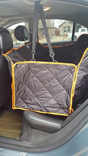 G & G Pet Seat Cover,Pet Car Hammock – Waterproof, Non Slip, Scratch Proof, Durable and Washable with Pockets for Cars & Trucks For Sale