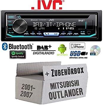 Mitsubishi Outlander - Autoradio Radio JVC KD-DB902BT - Bluetooth ...
