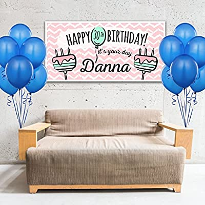 Personalized Birthday Banner: Handmade