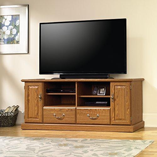 oak tv stands for flat screens - 2