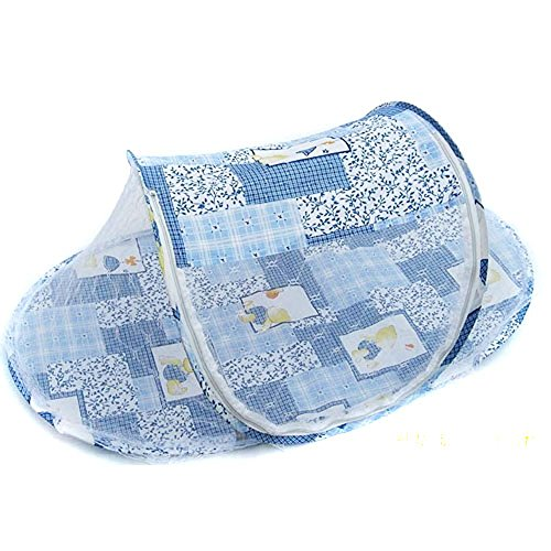 Baby Mosquito Net Toddler Bed or Crib blue - 9